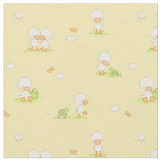 Duck and Turtle Fabric
