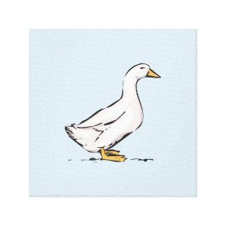 "Duck Baby Blue Canvas Art 12"" x 12"", 1.5"", Single"