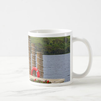 Duck Bay pier, Loch Lomond, Scotland Coffee Mug