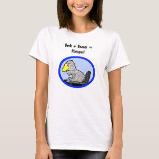 Duck + Beaver = Platypus! T-Shirt