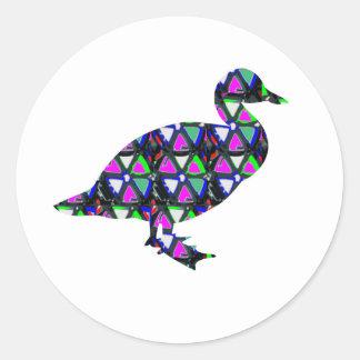 Duck,Bird,sticker,template,deco,kids,birthday,fun Stickers