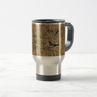 Duck Blind Coffee Break Travel Mug