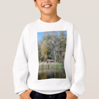 Duck blind in the Fall Sweatshirt