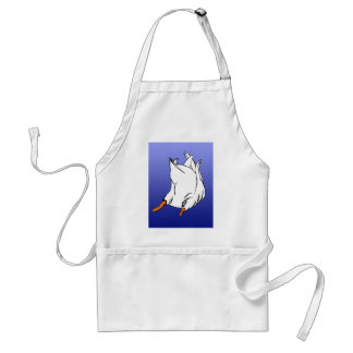 Duck Butt Postage Stamp Adult Apron