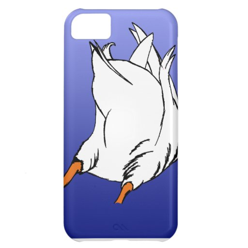Duck Butt Postage Stamp Cover For iPhone 5C