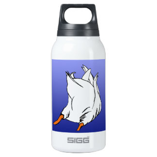 Duck Butt Postage Stamp Insulated Water Bottle