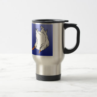 Duck Butt Postage Stamp Travel Mug