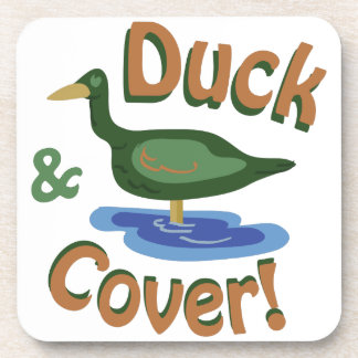 Duck & Cover! Drink Coasters