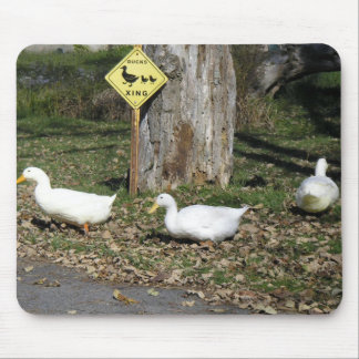 Duck Crossing Mousepad