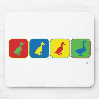 Duck Duck Duck Goose Pop Art Mouse Pad