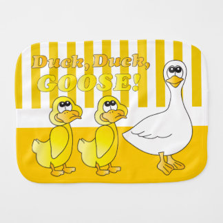 Duck, Duck, Goose - Baby Baby Burp Cloths