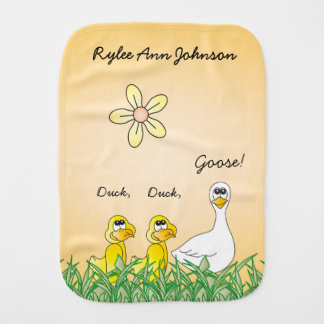 Duck, Duck, Goose Burp Cloth