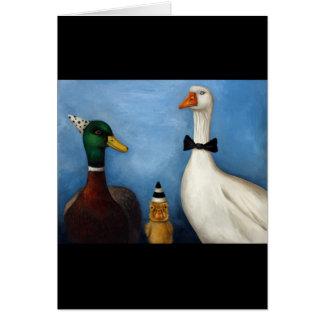 Duck Duck Goose Card