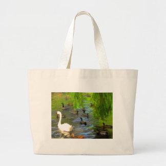 Duck Duck Goose Jumbo Tote Bag