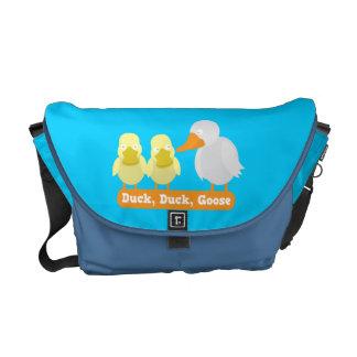 Duck, Duck, Goose messenger bag