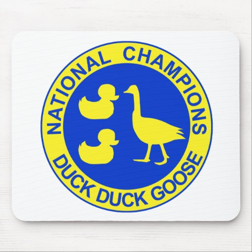 Duck Duck Goose Mouse Pads