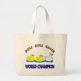 Duck Duck Goose World Champion Tote Bags