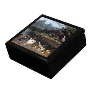 Duck Duckling Birds Animals Wildlife Pond Gift Box