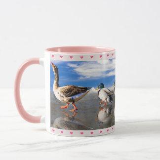Duck & Ducklings Mug
