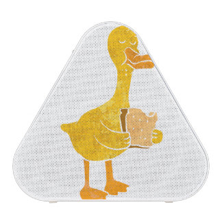 duck eating bread.