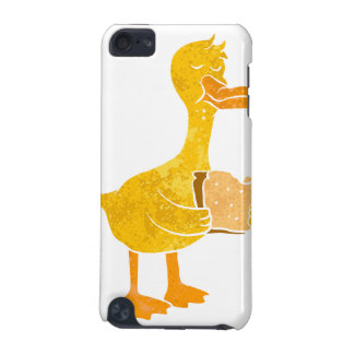 duck eating bread. iPod touch 5G cover