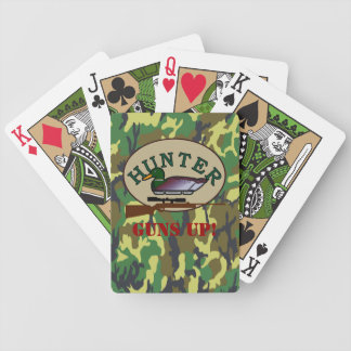 Duck Hunter- Bicycle Playing Cards