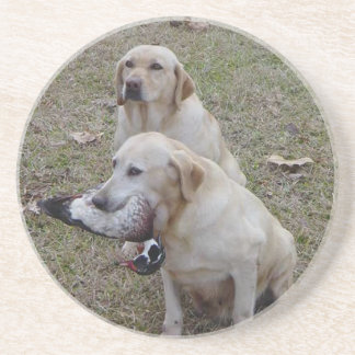 Duck Hunters Sandstone Coaster