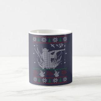 Duck Hunting Christmas Coffee Mug
