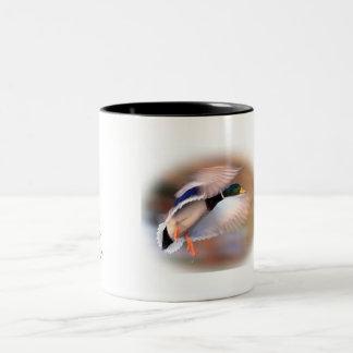 Duck Hunting drake mallard coffee cup