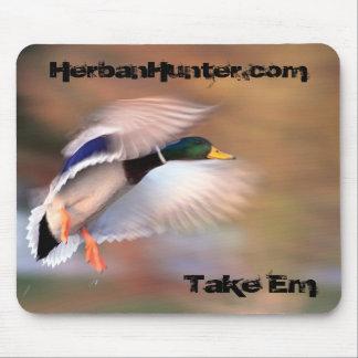 Duck Hunting Mallard Mouse Pad