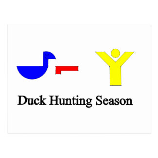 Duck Hunting Season Postcards