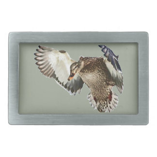 Duck in Flight Belt Buckle