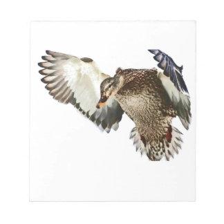 Duck in Flight Notepad