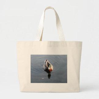 duck jumbo tote bag