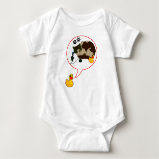 "Duck Lovers, ""Duckie Says!"" Baby Bodysuit"