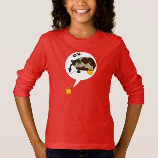 """Duck Lovers, """"Duckie Says!"""" T-Shirt"""