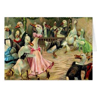 Duck Nightclub Card