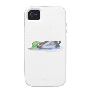DUCK ON THE WATER VIBE iPhone 4 CASE