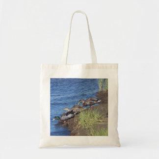 Duck Parade Budget Tote Bag