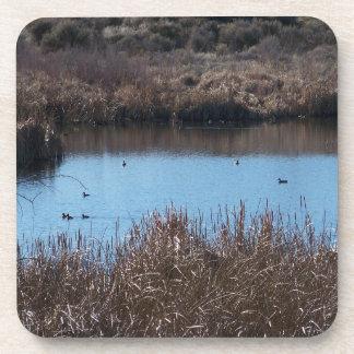 Duck Pond Beverage Coasters