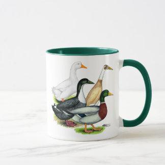 Duck Quartet Mug