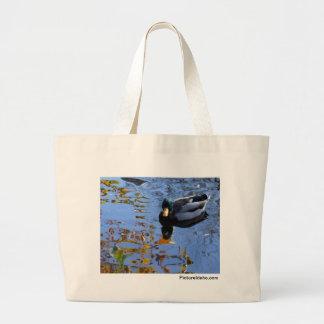 Duck Reflections Jumbo Tote Bag