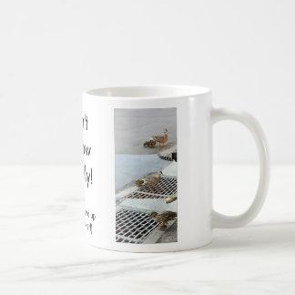 duck, riley_joe, Don'tFollowBlindly! Coffee Mug