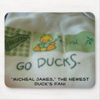Duck s Fan New Baby mousepad Custom Names