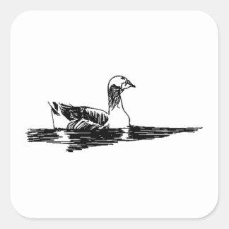 Duck Sketch Stickers