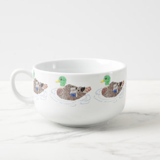 Duck soup bowl soup mug