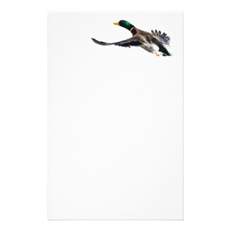 duck personalized stationery