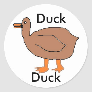 duck, sticker