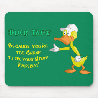 Duck Tape Mouse Pad