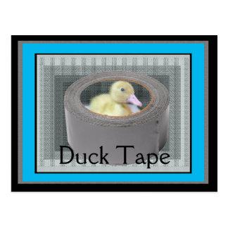 Duck tape postcard
